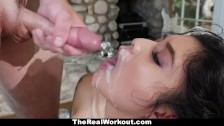 TheRealWorkout – Cute Asian Teen Fucks Friend After Workout